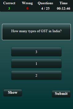 Goods and Services Tax Quiz screenshot 4