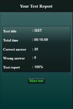Goods and Services Tax Quiz screenshot 5