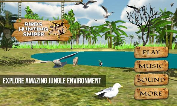 Birds Hunting Sniper Shooting screenshot 1