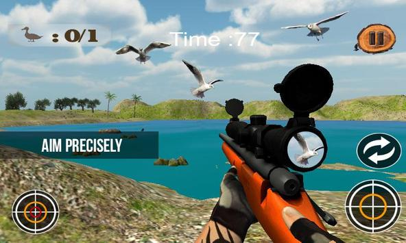 Birds Hunting Sniper Shooting screenshot 4