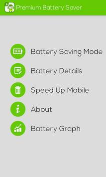 Premium Battery Saver screenshot 1