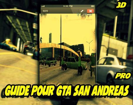 Guide pour GTA San Andreas apk screenshot