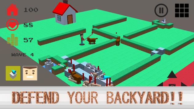 Backyard Defender apk screenshot