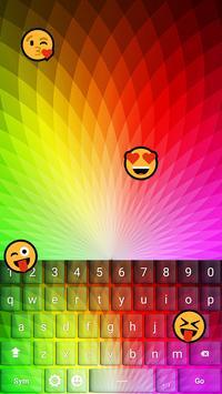 Rainbow Keyboard Emoji apk screenshot