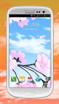 Falling Petals Live Wallpaper screenshot 12