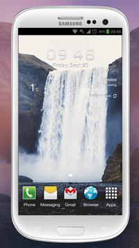 Waterfall Sound Live Wallpaper apk screenshot