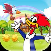 Woody Super Woodpecker Adventures World Run icon