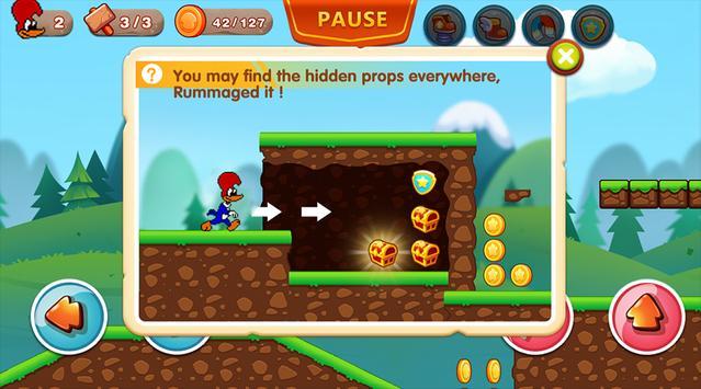 Woody Super Woodpecker Adventures World Run screenshot 5