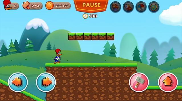 Woody Super Woodpecker Adventures World Run screenshot 13