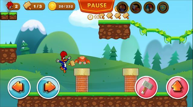 Woody Super Woodpecker Adventures World Run screenshot 2