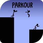 Stickman Parkour Platform icon