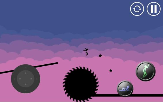 Stickman Parkour Platform screenshot 1