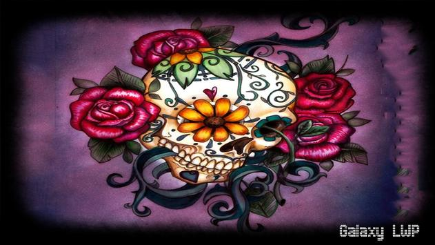 Mexican Skull Pack 2 Wallpaper apk screenshot