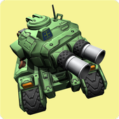 Crazzy Tank Battles - 3D Tank icon