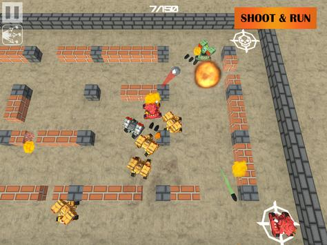 Crazzy Tank Battles - 3D Tank apk screenshot