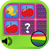 Match Cards Kids Game Free icon