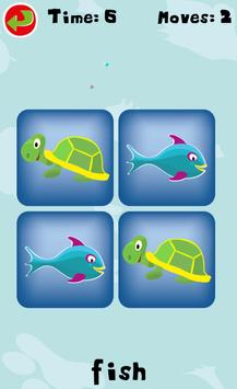 Match Cards Kids Game Free poster