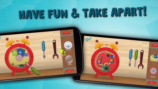 Kids learn to tell time free apk screenshot