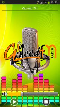 Galeed FM poster