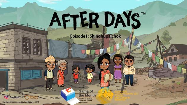 After Days EP1 - Free poster
