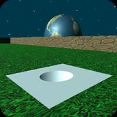 Mini Golf 3D in Space icon