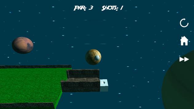 Mini Golf 3D in Space screenshot 1