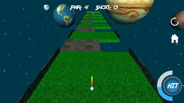 Mini Golf 3D in Space screenshot 3