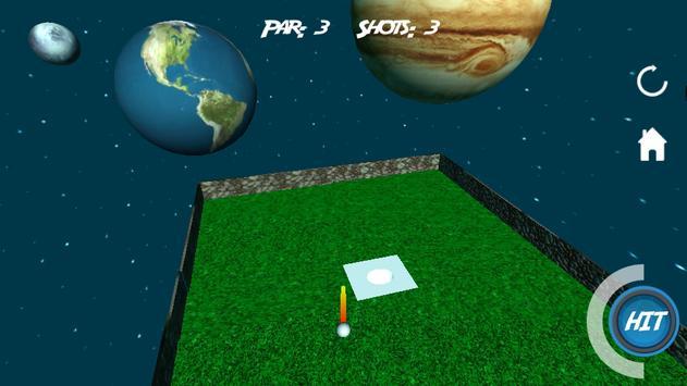 Mini Golf 3D in Space screenshot 5