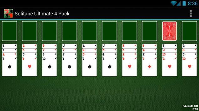 Solitaire Ultimate 4 Pack apk screenshot