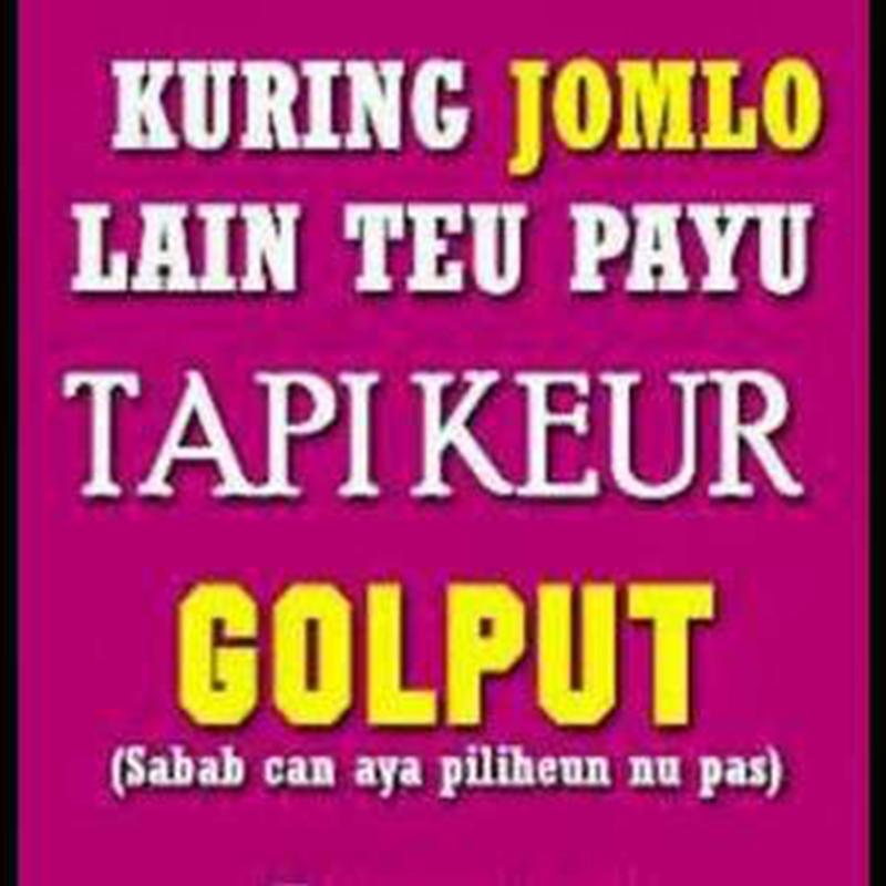 Lucu Bahasa Sunda Poster