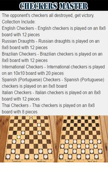 Checkers Master Collection screenshot 1