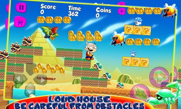 Lincoln Loud Adventure House screenshot 2