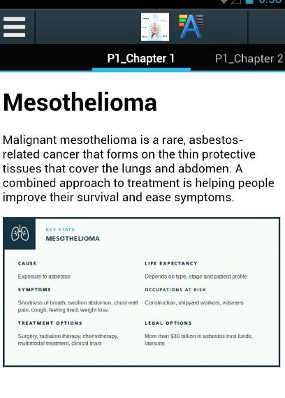 All About Mesothelioma for Android - APK Download