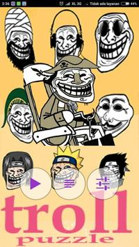 Troll Face Puzzle poster
