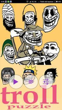 Troll Face Puzzle apk screenshot