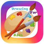 Drawing and Coloring children icon