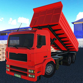 Real truck parking game 2017 icon