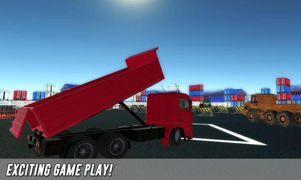 Real truck parking game 2017 apk screenshot