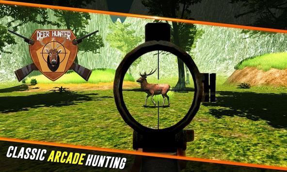 Deer sniper hunter adventures poster