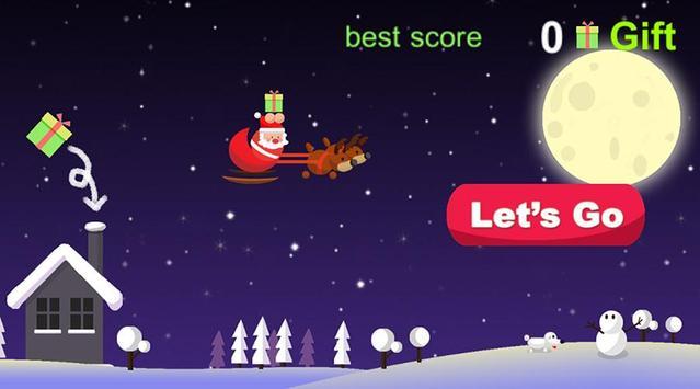 Noah's Flying Santa poster