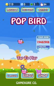 Pop Bird poster