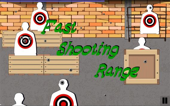 Fast Shooting Range apk screenshot