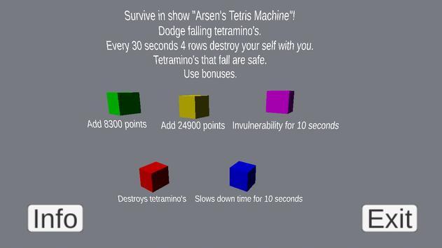 Arsen's Tetramino Machine screenshot 1
