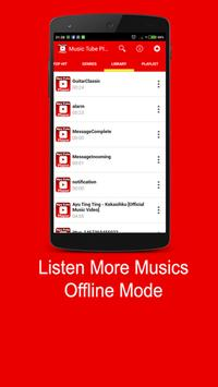 MUSICTUBE MP3 PLAYER apk screenshot