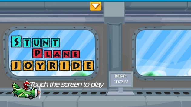 Stunt Plane Joyride poster