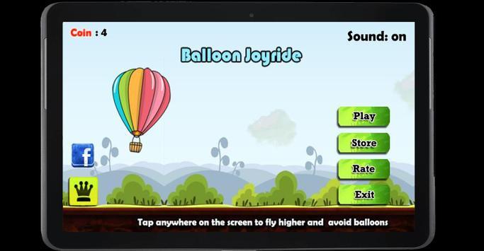 Balloon Joyride Free screenshot 7