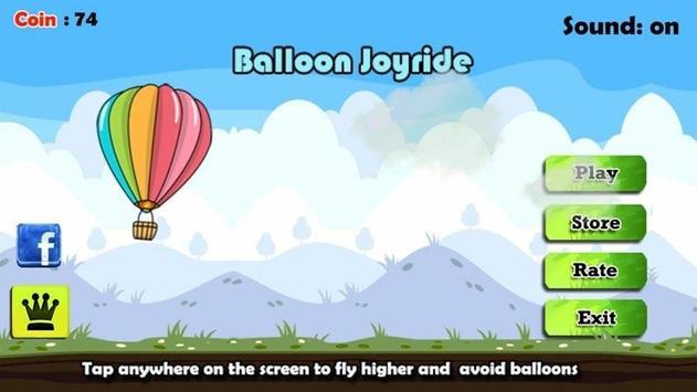 Balloon Joyride Free poster