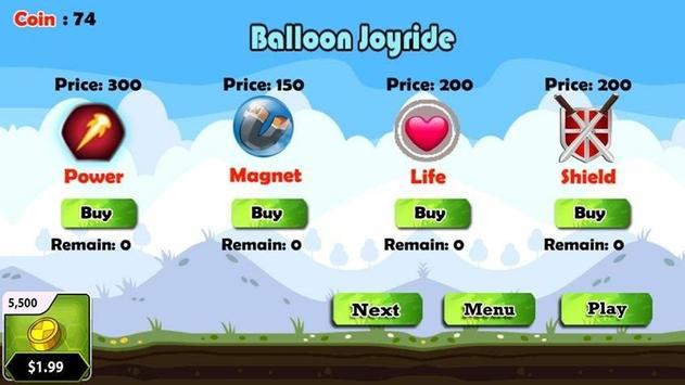 Balloon Joyride Free screenshot 1