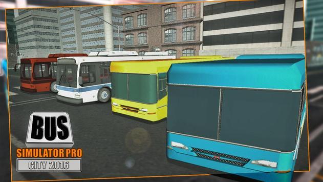 Bus Simulator Pro - City 2016 poster