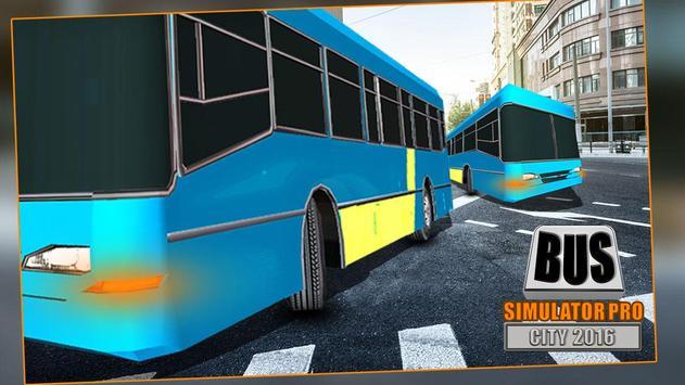 Bus Simulator Pro - City 2016 screenshot 14